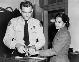 Rosa being Arrested