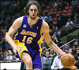 Pau Gasol Top Stars Game