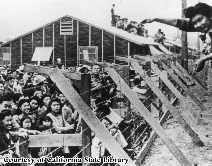 Image result for images of american japanese internment camps