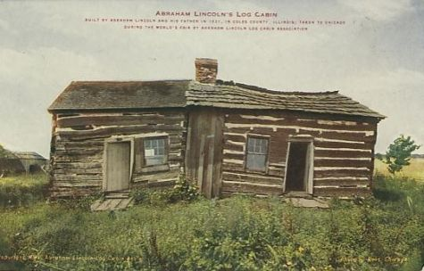 charleston-illinois-abraham-lincoln-log-cabin-lincolniana-chicago-world-fair-exposition