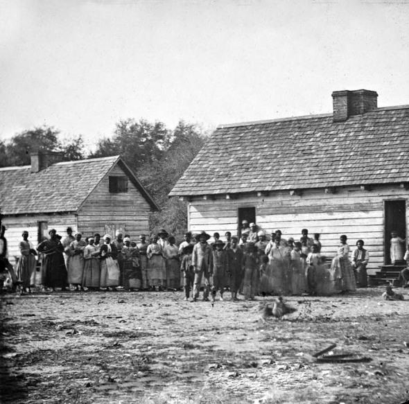 Slaves on a Plantation Richmond, Virginia