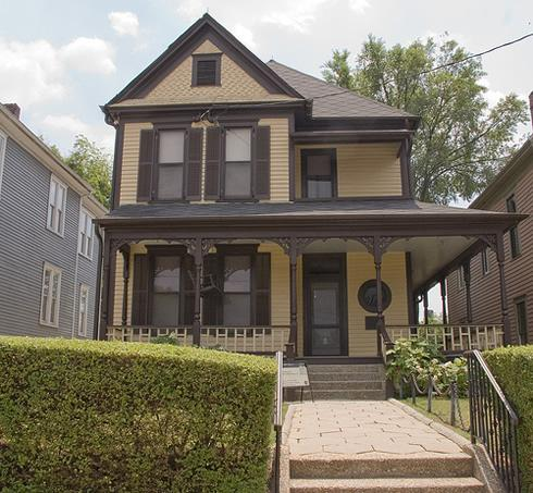 The house where Martin Luther King jr was born and