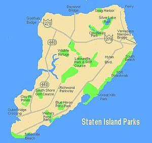 Staten Island Address Map