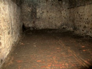 Male Dungeon where slaves were kept for months waiting for slave ships