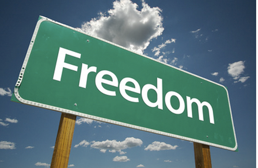 freedom mean to me Our freedom in christ means that we do not have to keep the law in order to be saved nor are we obligated to be morally perfect before people instead, it means we've.